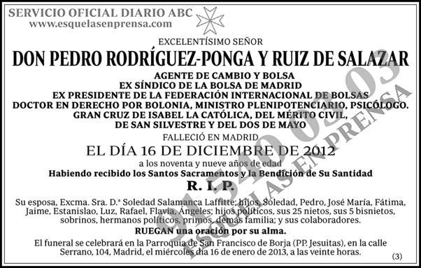 Pedro Rodríguez-Ponga